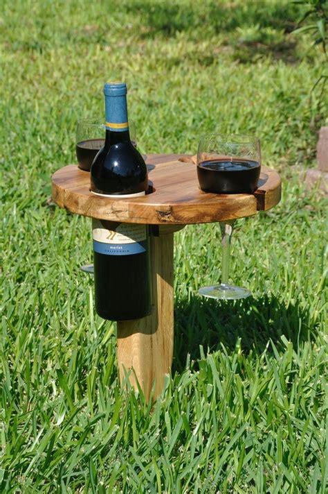portable picnic wine table home design garden