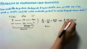 Problema 1 De Proporcionalidad Compuesta  Hd
