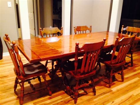 early american dining room sets  design ideas
