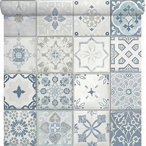 Carreaux De Ciment Castorama : papier peint carreaux de ciment castorama papier peint ~ Melissatoandfro.com Idées de Décoration