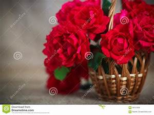 Beautiful Bouquet Of Red Roses Stock Photo - Image: 58121838