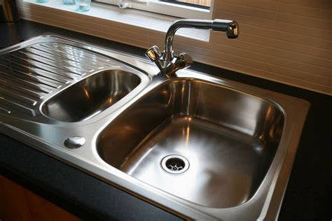 stopped up kitchen sink repairing a single handle cartridge faucet 5851
