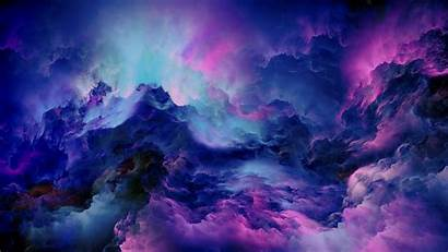 Clouds Abstract 4k Colorful Wallpapers Artist