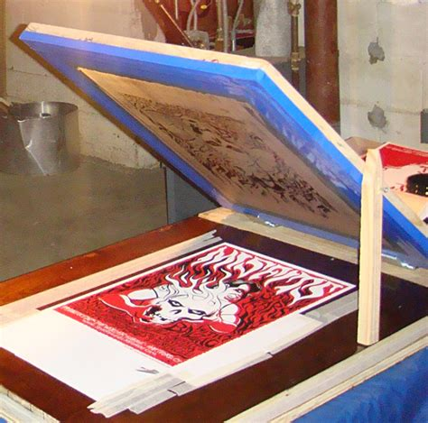 how to print on silk adventures in diy screen printing building your own vacuum table poster press