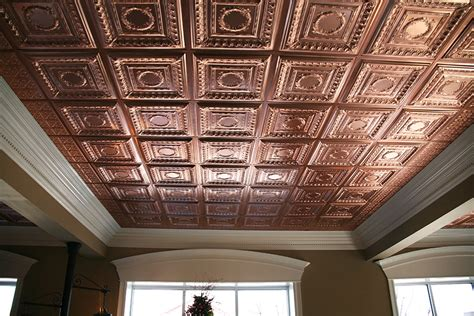 cheap black ceiling tiles 2x4 cambridge faux copper 2x4 by ceilume