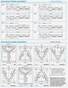 Buck Boost Transformer Wiring Diagram Sample