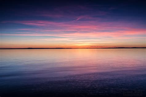 The Colorful Sunset On Lake Constance By Linsenschuss On