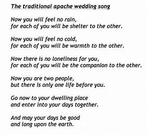 a lovely non religious blessing which goes perfectly near With wedding ring ceremony speech