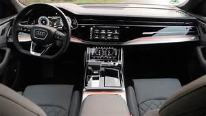 Audi Q8 Interieur : 2019 audi q8 test s line 3 0 tdi autogef hl ~ Medecine-chirurgie-esthetiques.com Avis de Voitures