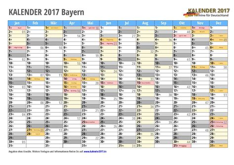kalender bayern zum ausdrucken kalender