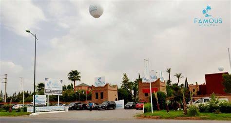 4 Ballons Géants Au Famous Beach à Marrakech Au Maroc