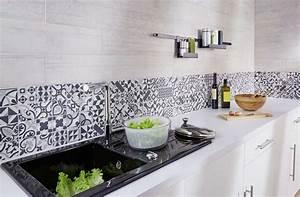 cuisine credence carreaux de ciment sweet home paris With carreau de ciment mural cuisine