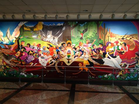 Denver Colorado Airport Murals