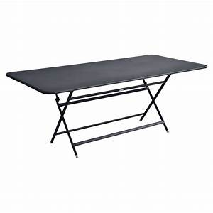 table pliante caractere fermob rectangulaire With table de jardin fermob soldes