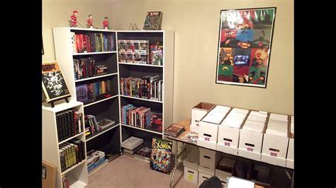 Comic Book Room Tour