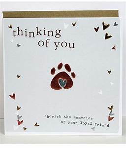 Pet Sympathy Cards   Molly Mae   Thinking Of You Cards For ...