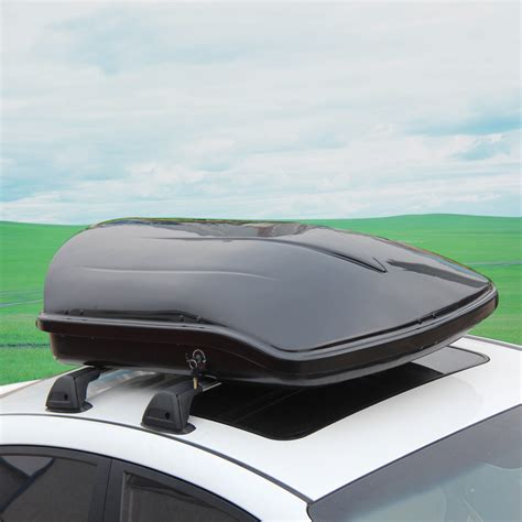 Best Roof Cargo Box Black Car Top Roof Box Top Cargo Carrier Portable Luggage