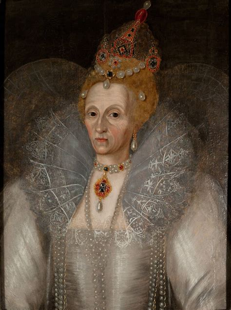 ca. 1595 Queen Elizabeth portrait, Marcus Gheeraerts the Younger (Folgers Shakespeare Library ...