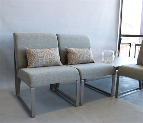 Salon Curved Sofa By Entrakor Office Furniture Solutions