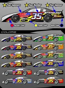 Race Car Wraps Graphics