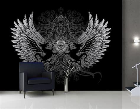 photo wall mural wings  dragons wallpaper wall art wall
