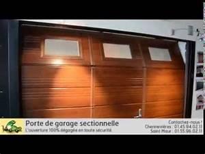 Porte De Garage Avec Portillon : monsieur store dubos verger porte de garage sectionnelle ~ Melissatoandfro.com Idées de Décoration