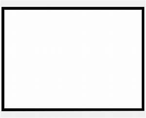 Black Border A7 Flat Cards | (5 1/8 x 7) | Notecards ...