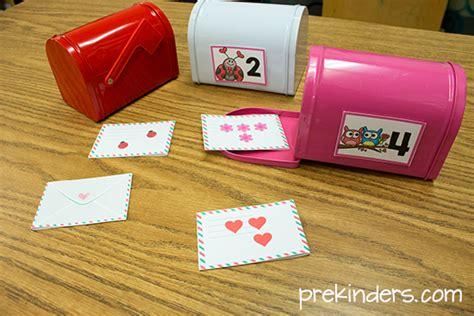 preschool mailbox mailbox math for s day in preschool prekinders 165