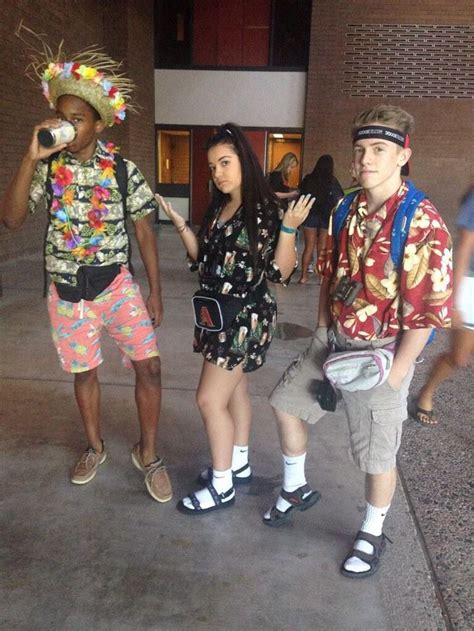 Best 25+ Tacky tourist costume ideas on Pinterest | Hawaiian themed outfits Easy funny ...