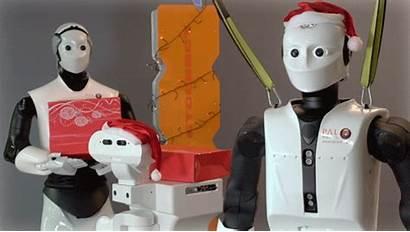 Christmas Merry Robotics Robotic Robots Pal Happy