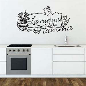 Best wall stickers cucina contemporary for Wall stickers cucina