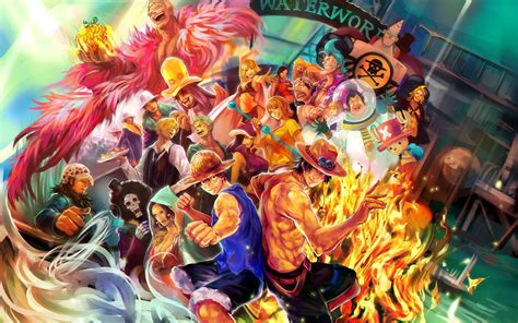 Wallpapers One Piece 2017 Nami And Law