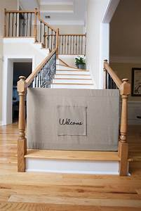 25 best ideas about stair gate on pinterest baby gates With dog gate for stairs