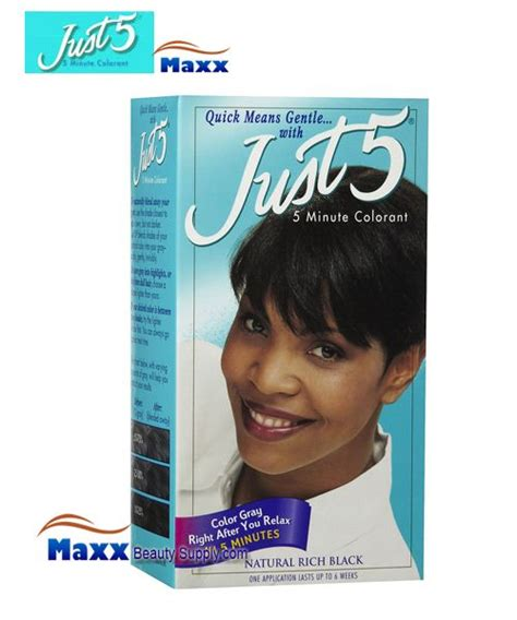 just 5 hair color just 5 hair color kit color gray right after you relax