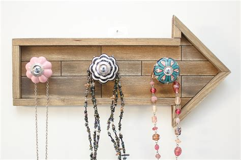 Diy Necklace Holder With Boho Knobs Jewelry Fresh Tracking Indian Bridal Artificial Jewellery Online Septum Piercing Hot Topic Beautiful Wiccan Marshalls Hanging Organizer Bridesmaids Sets Under 20 Red