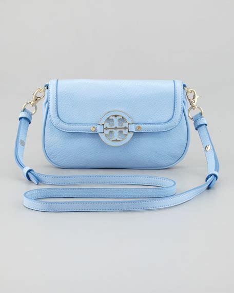 light blue crossbody bag burch amanda classic crossbody bag light blue