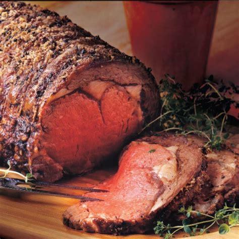 boneless ribeye roast rib eye roast recipe epicurious com