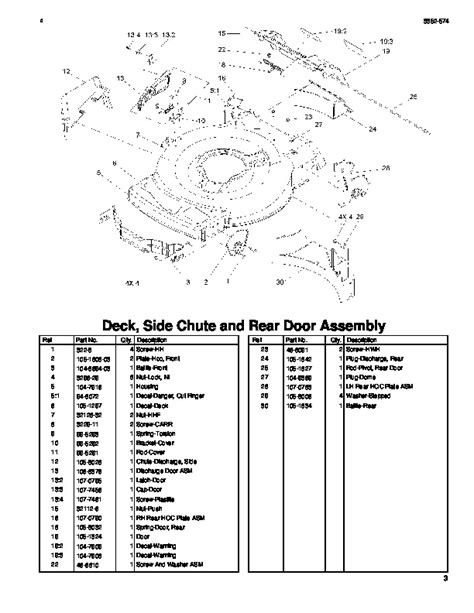 Toro 20049 22-Inch Recycler Lawn Mower Parts Catalog, 2005