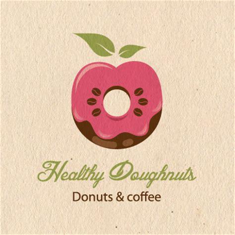 healthy doughnuts logo design gallery inspiration logomix
