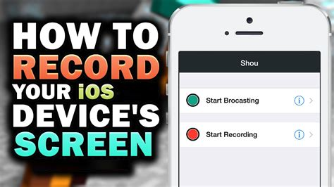 how do i record my iphone screen record screen iphone how to record the screen on your