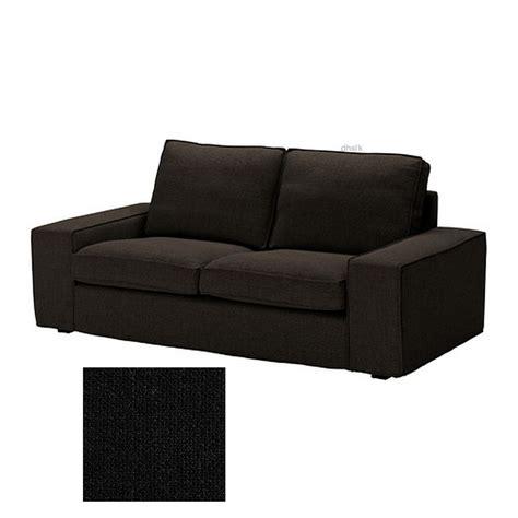 Canapã Kivik Ikea Ikea Kivik 2 Seat Loveseat Sofa Slipcover Cover Teno Black