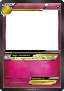 Mega Pokemon Card Template