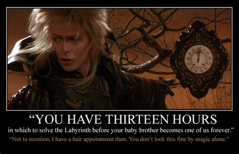 Labyrinth Meme - jareth s busy schedule by monacomac some movies i love pinterest