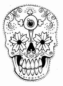 best photos of day of the dead printable masks day of With day of the dead skull mask template