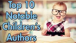 Top 10 Notable Children's Authors - YouTube