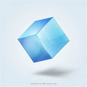 Crystal cube Vector | Free Download