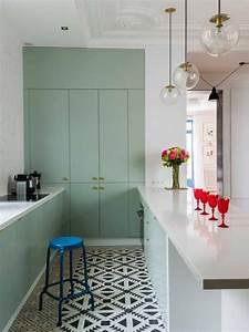 Carrelage Vert D Eau : une jolie couleur vert d 39 eau pour la cuisine le blog d co de mlc ~ Melissatoandfro.com Idées de Décoration