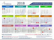 Calendario 2018 Peru Feriados newcalendar