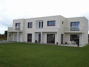 Maison Sans Toit : maison contemporaine toit terrasse dieppe constructeur de ~ Farleysfitness.com Idées de Décoration