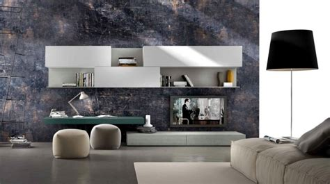 Mensole Sotto Tv by Wall Shelf Designs By Presotto For The Modern Living Room